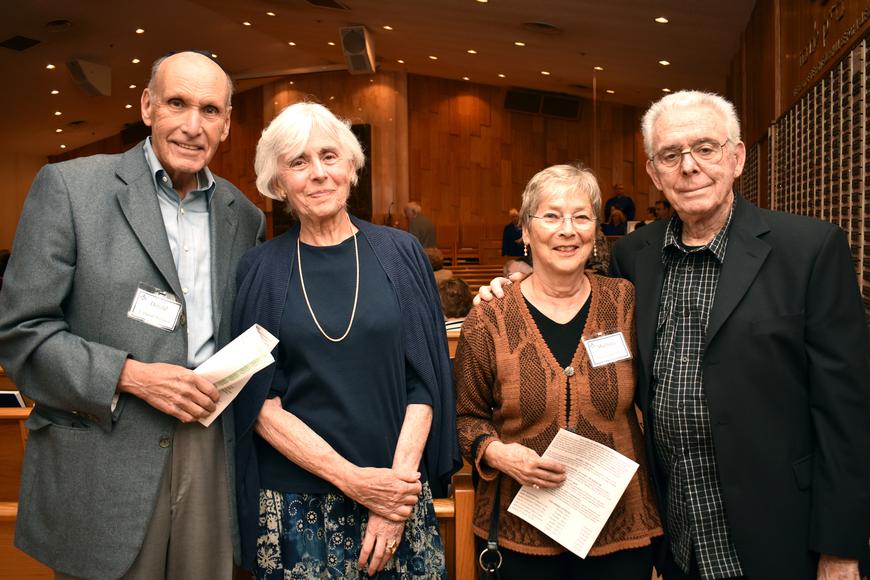 Donald & Helaine Weinstein, Barbara & Allan Schwartz  ©Longboat Key Observer