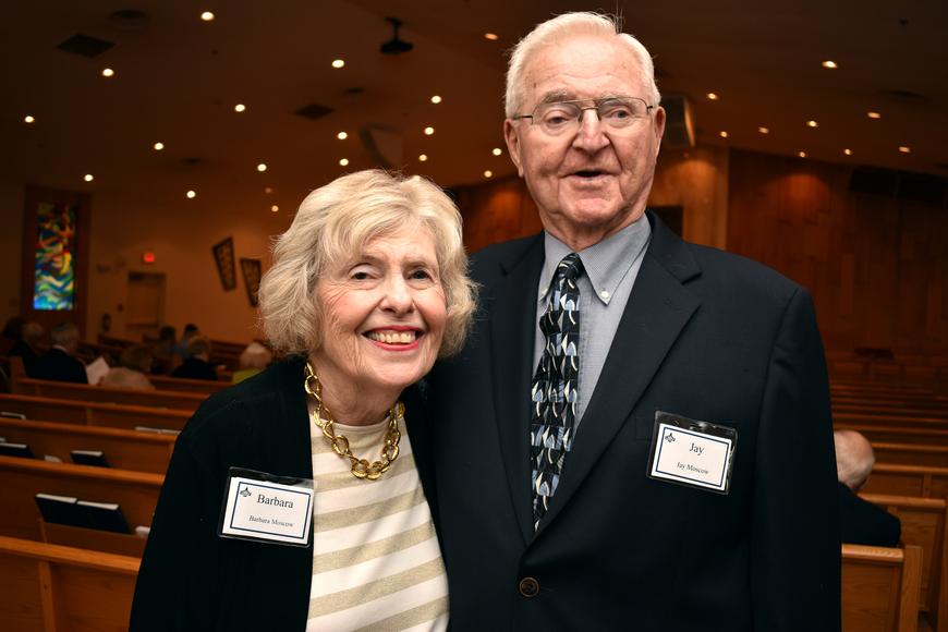 Barbara & Jay Moskow  ©Longboat Key Observer