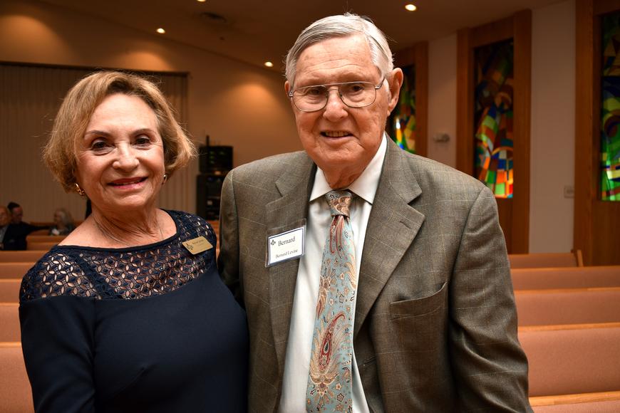 Marion & Bernie Levine  ©Longboat Key Observer